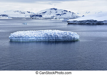 Ice on the ocean - Stock pictures of ice on the ocean and...