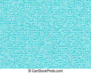 Ice pattern - Background in the form of a surface of blue...