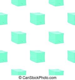 Ice pattern flat