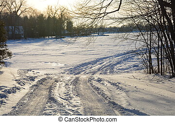 Ice road leads to adventure