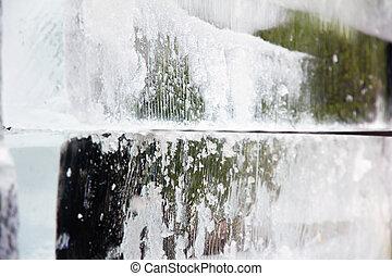 ice sculpture background