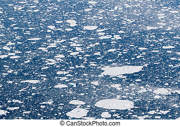 Ice sheets in the ocean