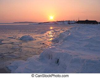 Ice silence