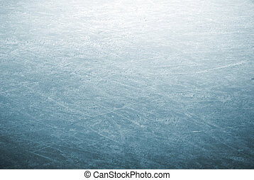 Ice skate park - background image of a detail of scratched...
