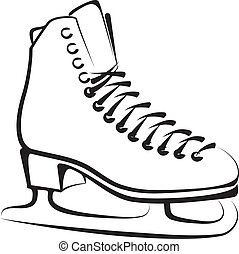 ice skate clip art and stock illustrations 13 358 ice skate eps rh canstockphoto com ice skates clipart free ice skates clipart images