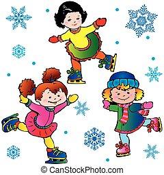 ice-skating.