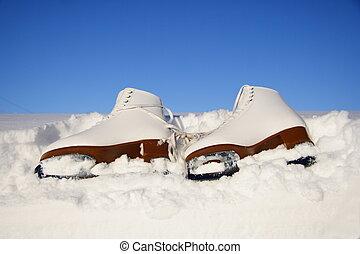 ice skating skates