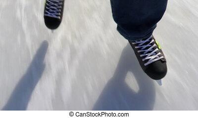 Ice Skating, skating rink, hockey skates