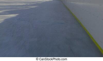 Ice Skating, skating rink.