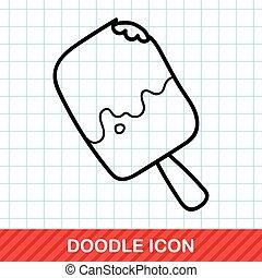 ice stick doodle