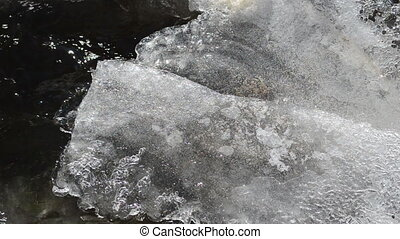 ice stream flow winter