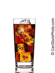 Ice Tea on white background