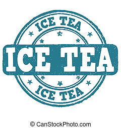 Ice tea stamp