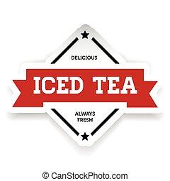 Ice Tea vintage sign