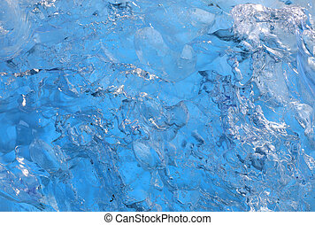 Ice texture background of iceberg from Glacial lake...