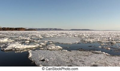 Ice to Float the River