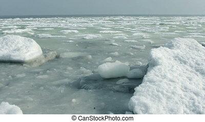 Ice waves.