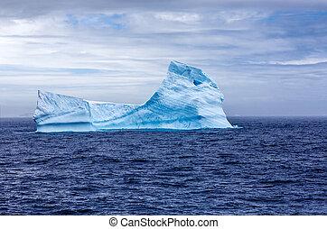 iceberg, antártica, sphynx
