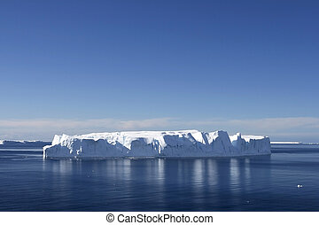 Iceberg in Antarctic waters