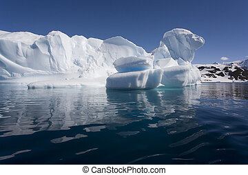 Iceberg in Cuverville Bay - Antarctica