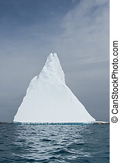 Iceberg in the form of a pyramid. - Iceberg in the form of a...