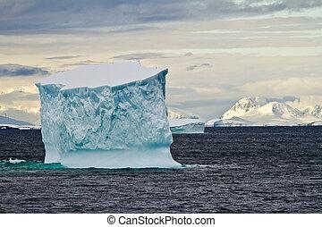 iceberg, meridionale, oceano