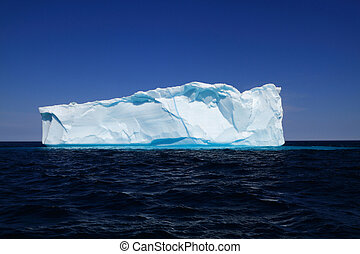 Iceberg near to the west coasts of Greenland - Newly born...