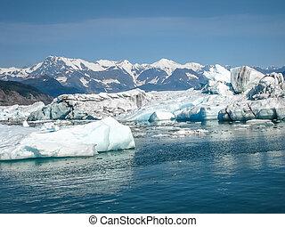 iceberg, paesaggio