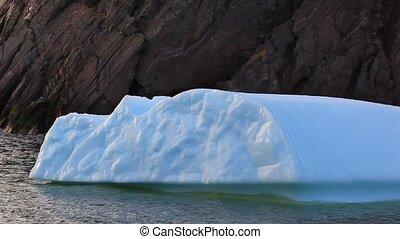 Iceberg - Small iceberg moving in the ocean.