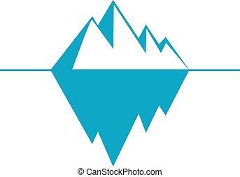 ice berg clip art and stock illustrations 274 ice berg eps rh canstockphoto com iceberg lettuce clipart iceberg clipart free
