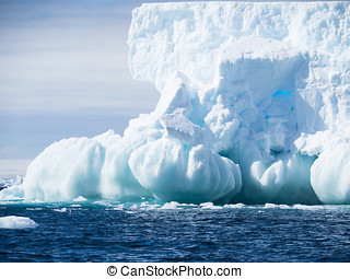 Iceberg with Spherical Foundation