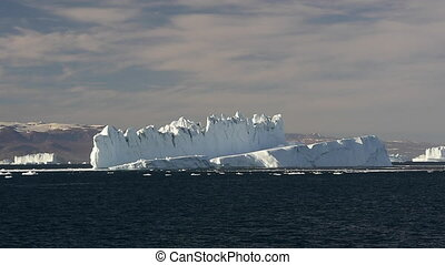 Icebergin in Greenland