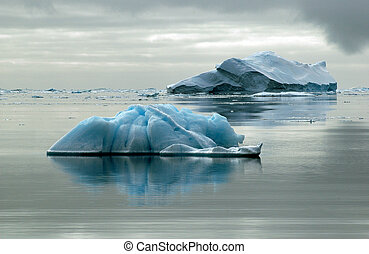 icebergs, deux