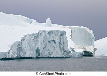 Icebergs in Ilulissat