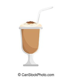 Iced coffee Clip Art and Stock Illustrations. 20,788 Iced ...