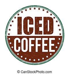 Iced coffee stamp
