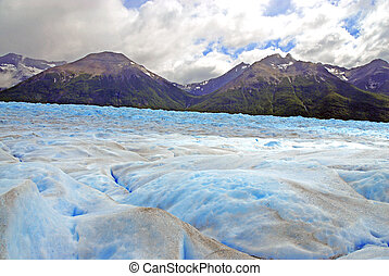 Icefield in Patagonia, Argentina