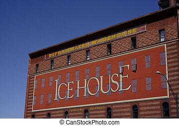 Icehouse brick building - icehouse brick building in Denver,...