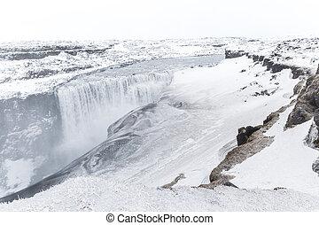 Iceland Dettifoss Waterfall