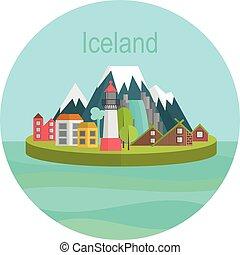 Iceland Landmark Travel