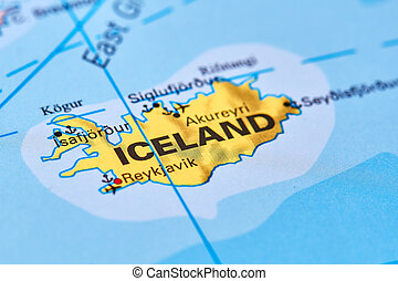 Iceland on the Map
