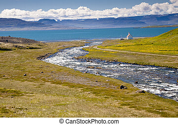 Iceland view - Unadsdalur