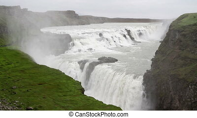Iceland Waterfalls - Beautiful steady shot of Iceland...
