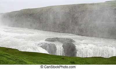 Iceland Waterfalls - Beautiful steady shot of Iceland...
