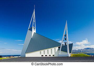 Icelandic church.