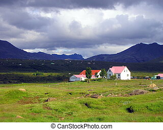 Property of the Icelandic countryside