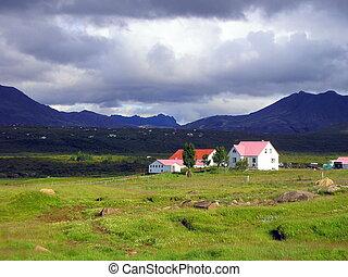 Icelandic Countryside - Property of the Icelandic...