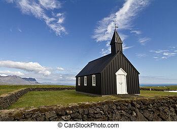 Icelandic Lutheran church - Remote Icelalandic Lutheran...