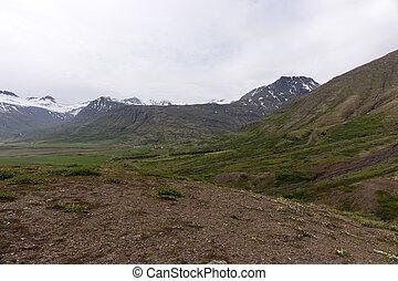 Icelandic mountain landscape. Beautiful landscape