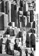 Icelandic stone - The striking pattern in an icelandic rock...